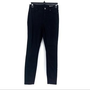 BlankNYC Mid Rise Skinny Vegan Leather Jeans